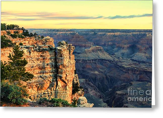 The Grand Canyon Greeting Cards - Grand Canyon 18 Greeting Card by Chuck Kuhn