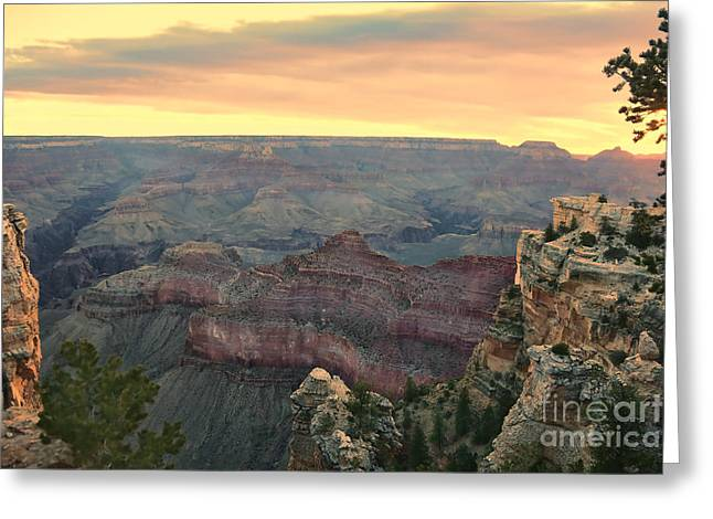 The Grand Canyon Greeting Cards - Grand Canyon 19 Greeting Card by Chuck Kuhn