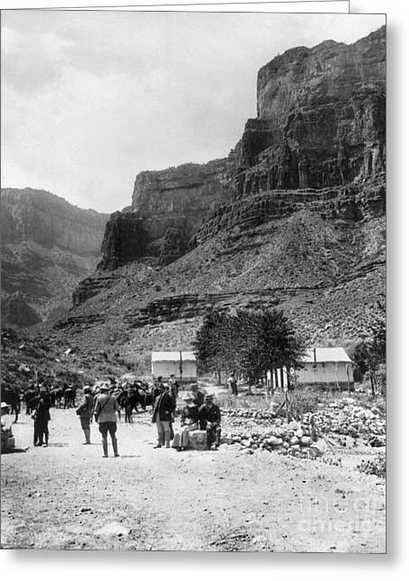 1907 Greeting Cards - Grand Canyon, 1907 Greeting Card by Granger