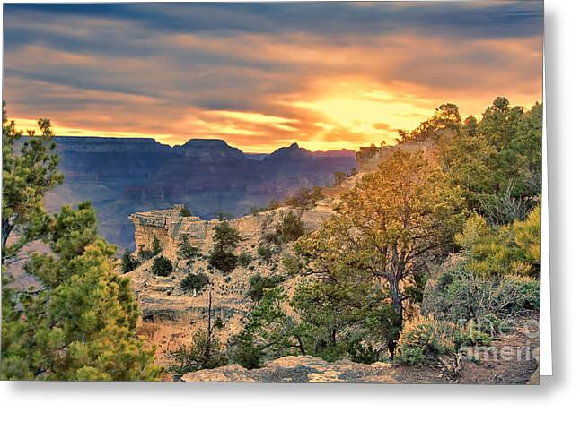 The Grand Canyon Greeting Cards - Grand Canyon 20 Greeting Card by Chuck Kuhn