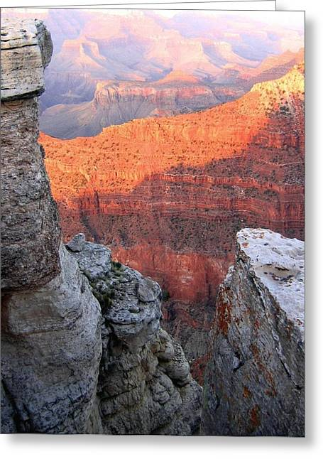 Intrigue Greeting Cards - Grand Canyon 85 Greeting Card by Will Borden