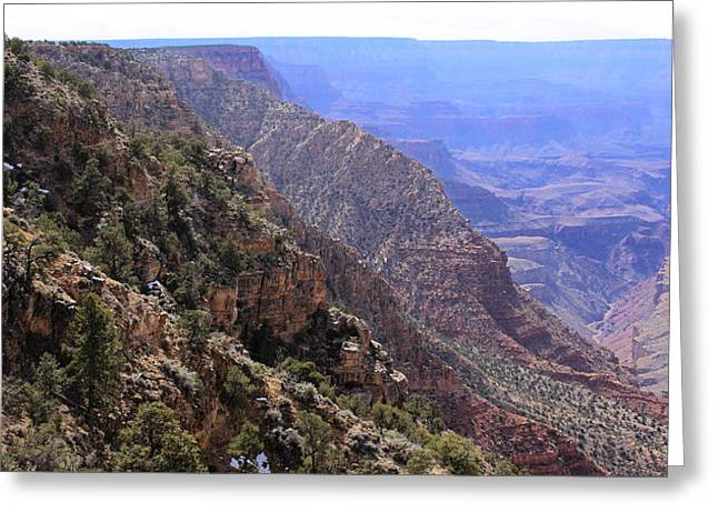 Outlook Greeting Cards - Grand Canyon Afternoon Greeting Card by Viktor Savchenko