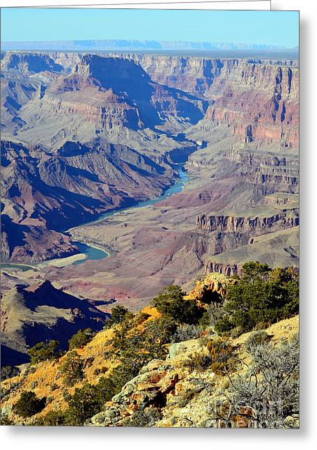 Colorado Photographs Greeting Cards - Grand Canyon Eastern Sunset View Greeting Card by Shawn O