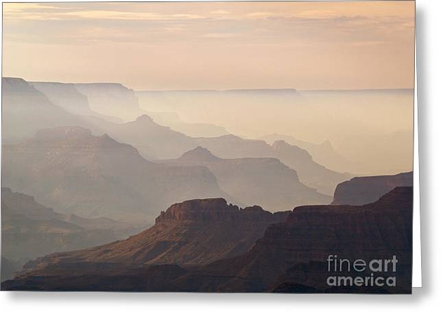 Haze Photographs Greeting Cards - Grand Canyon from Lipan Point Greeting Card by Alex Cassels