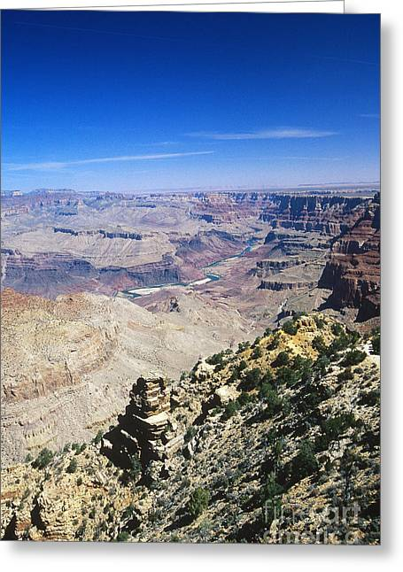 The Plateaus Greeting Cards - Grand Canyon Greeting Card by Gregory G. Dimijian, M.D.