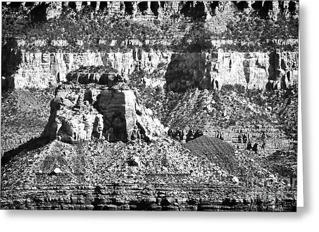 The Grand Canyon Greeting Cards - Grand Canyon Interior Greeting Card by John Rizzuto