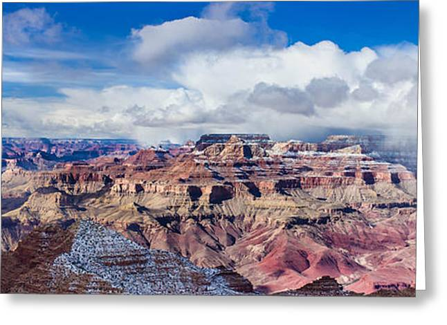 The Plateaus Greeting Cards - Grand Canyon Greeting Card by Jianghui Zhang