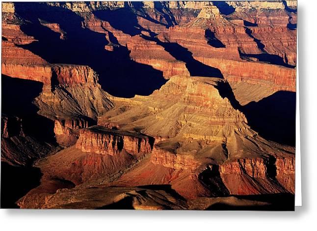 Moran Greeting Cards - Grand Canyon Light  Greeting Card by Aidan Moran