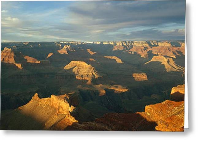 Stratum Greeting Cards - Grand Canyon National Park, Arizona, Usa Greeting Card by Panoramic Images