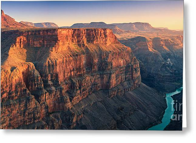 Landscape Framed Prints Greeting Cards - Grand Canyon with the view from Toroweap Greeting Card by Henk Meijer Photography