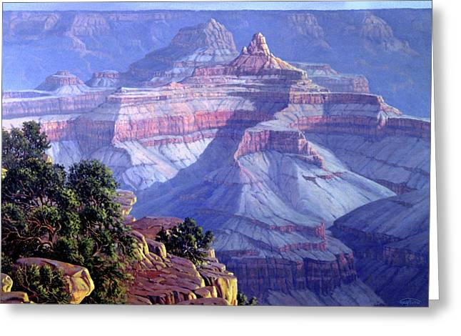 Corner Greeting Cards - Grand Canyon Greeting Card by Randy Follis