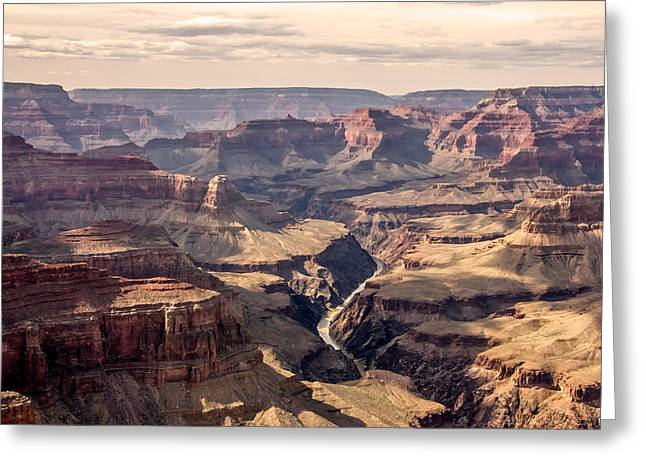 Decour Greeting Cards - Grand Canyon Greeting Card by Russell Nordstrand