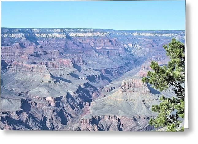 David Rizzo Greeting Cards - Grand Canyon south Greeting Card by David Rizzo