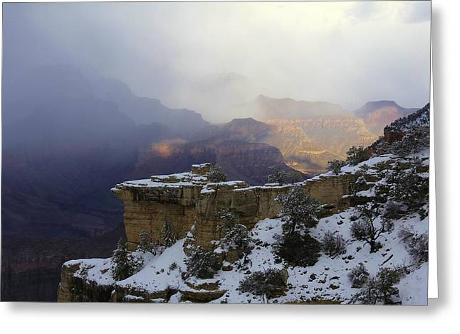March Greeting Cards - Grand Canyon South Rim 10 Greeting Card by Linda Gray