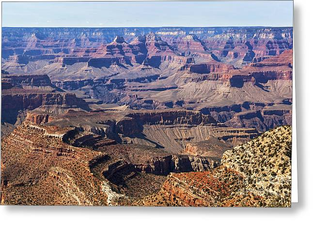 Hiking Greeting Cards - Grand Canyon South Rim Greeting Card by Jane Rix