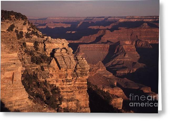 Grand Canyon Sunrise Greeting Card by Liz Leyden