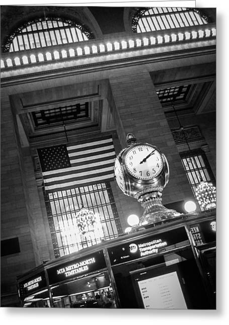 Historical Pictures Greeting Cards - Grand Central Greeting Card by Alexander Mendoza