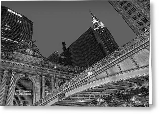 Pershing Greeting Cards - Grand Central Terminal GCT NYC Greeting Card by Susan Candelario