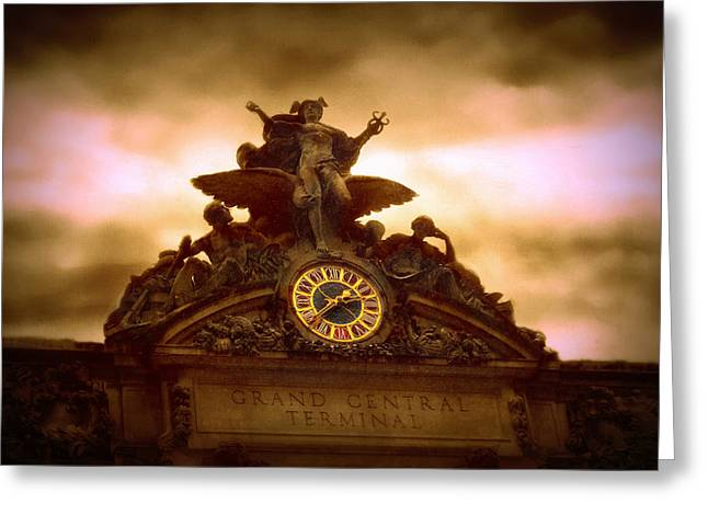 Tiffany Greeting Cards - Grand Central Terminal Greeting Card by Jessica Jenney