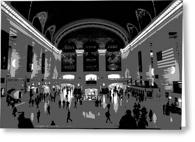 New Mind Greeting Cards - Grand Central Terminal Poster Greeting Card by Dan Sproul