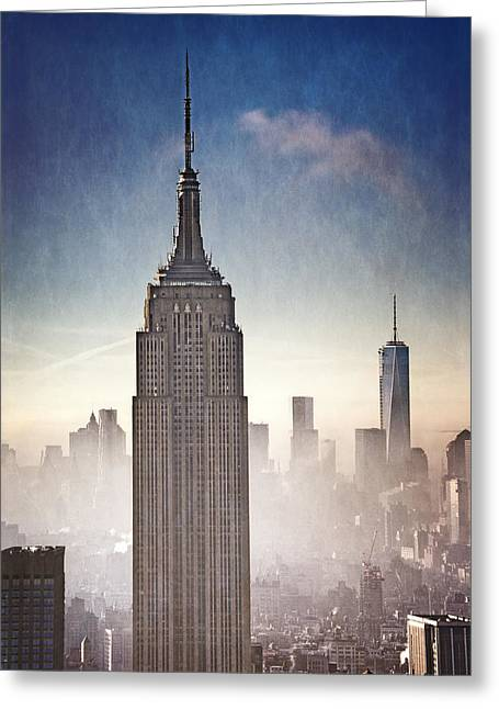Grand Dames Of Nyc Greeting Card by Vicki Jauron