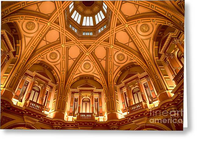 333 Greeting Cards - Grand Dome II Greeting Card by Ray Warren