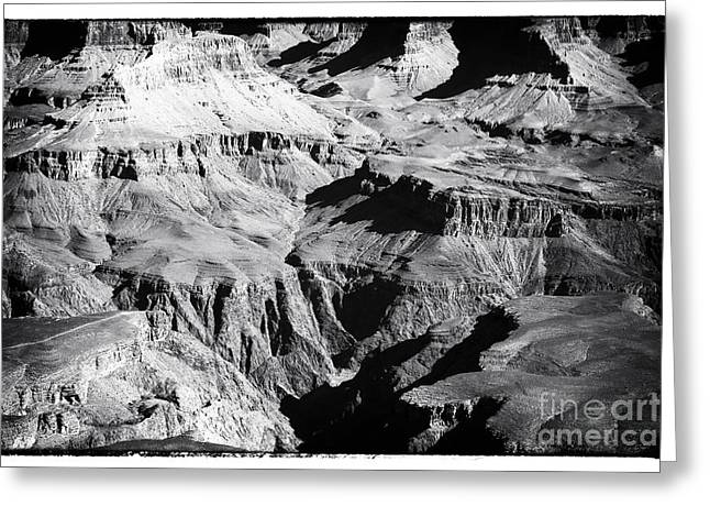 The Grand Canyon Greeting Cards - Grand Mysteries Greeting Card by John Rizzuto