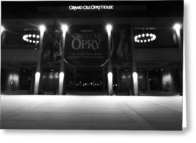 Award Greeting Cards - Grand Ole Opry At Night Greeting Card by Dan Sproul