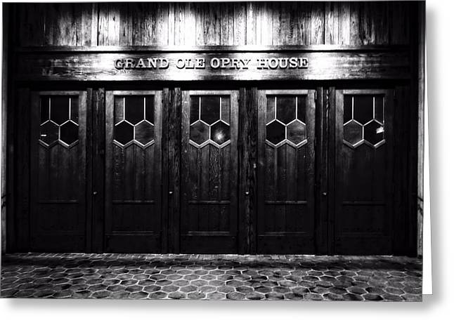 Grand Ole Opry House Greeting Card by Dan Sproul