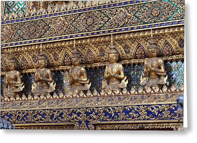 Asia Greeting Cards - Grand Palace in Bangkok Thailand - 011325 Greeting Card by DC Photographer