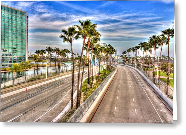 Indy Car Greeting Cards - Grand Prix Of Long Beach Greeting Card by Heidi Smith