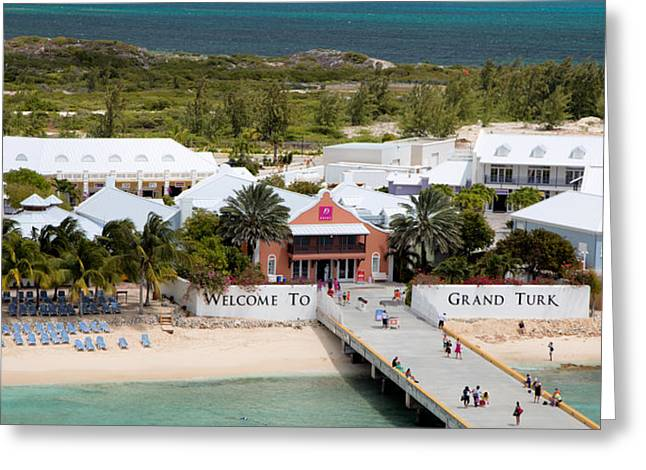 Grand Turk Island Greeting Cards - Grand Turk Welcome Center Greeting Card by Jack Nevitt
