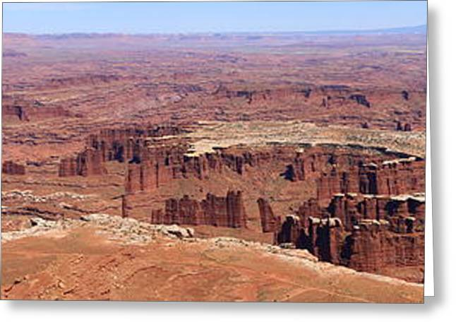The Plateaus Greeting Cards - Grand View - Canyonlands Greeting Card by Christiane Schulze Art And Photography