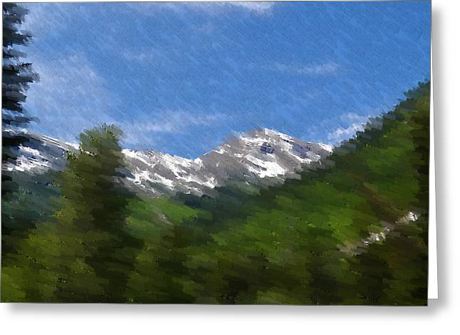 Landscape Posters Greeting Cards - Grand View Greeting Card by Kevin Bone