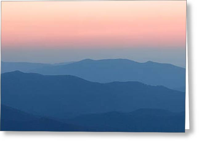 ist Photographs Greeting Cards - Grandeur I - Blue Ridge Parkway Greeting Card by Dan Carmichael