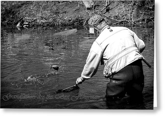 Jahred Allen Photography Greeting Cards - Grandfathers are the best Fisherman. Greeting Card by Jahred Allen