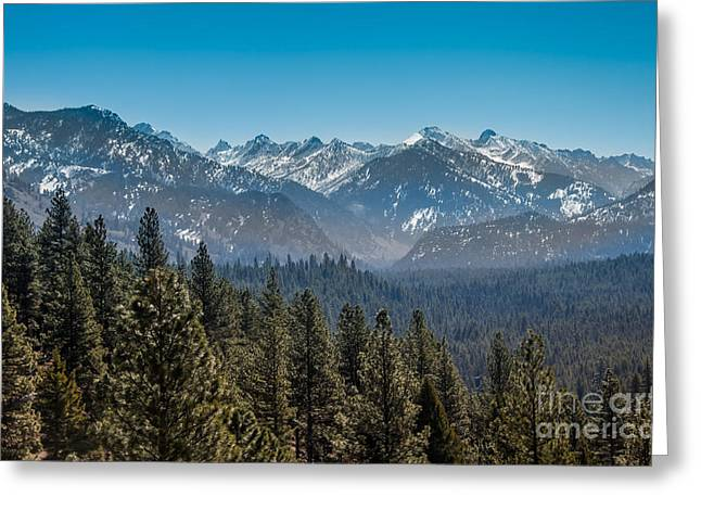 Outlook Greeting Cards - Grandjean Valley Greeting Card by Robert Bales
