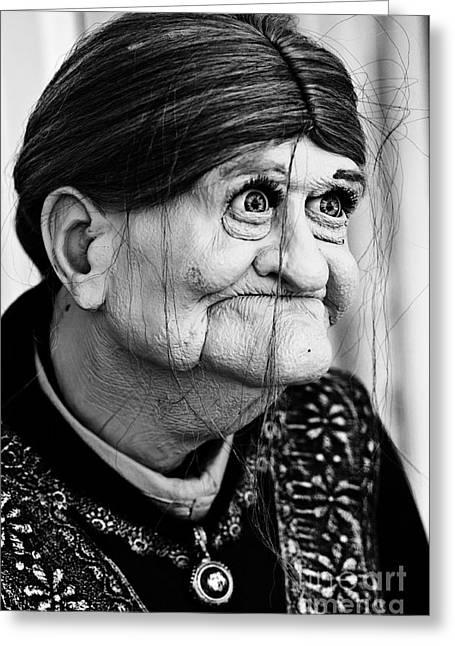 Omg Greeting Cards - Grandma Greeting Card by Steve Purnell