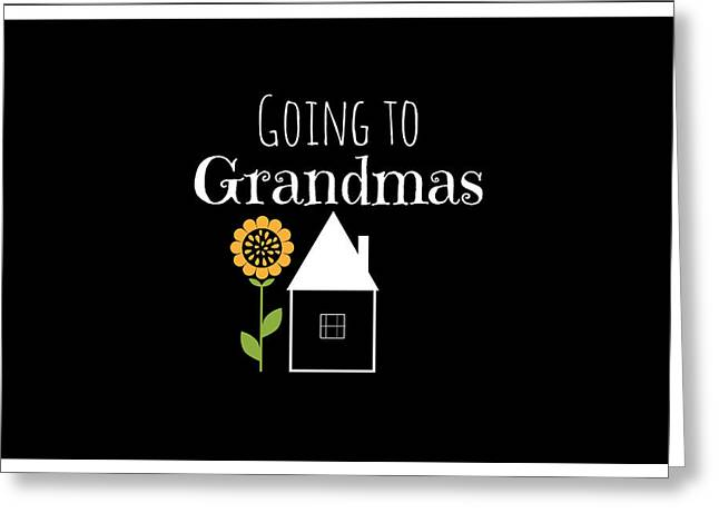 Spur On Greeting Cards - Grandmas House Greeting Card by Chastity Hoff