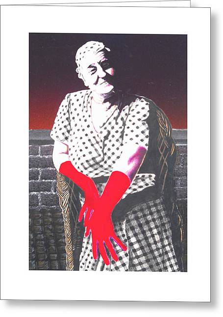 Best Sellers -  - Stockton Greeting Cards - Grandmother Greeting Card by Kenneth Stockton