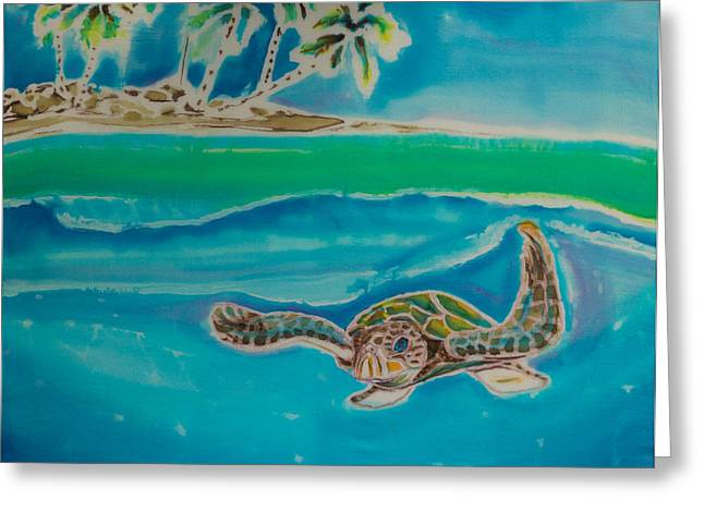 Island Tapestries - Textiles Greeting Cards - Granito de Oro Greeting Card by Kelly     ZumBerge