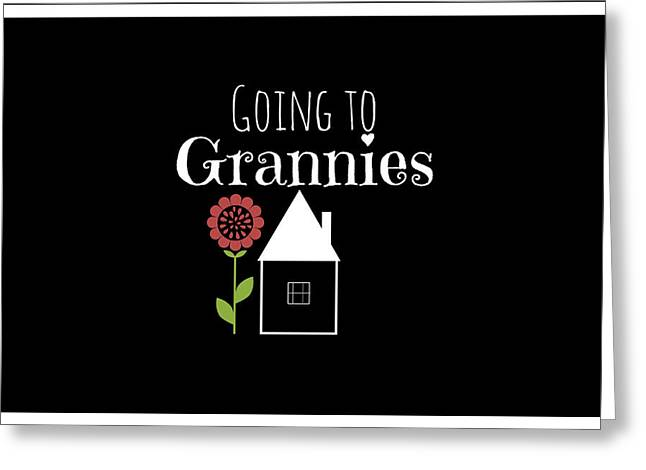 Spur On Greeting Cards - Grannies House Greeting Card by Chastity Hoff