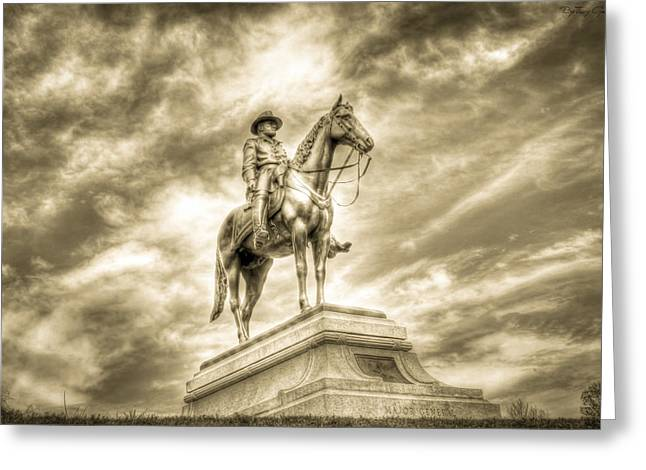 Confederate Monument Greeting Cards - Grant Greeting Card by Tracy B