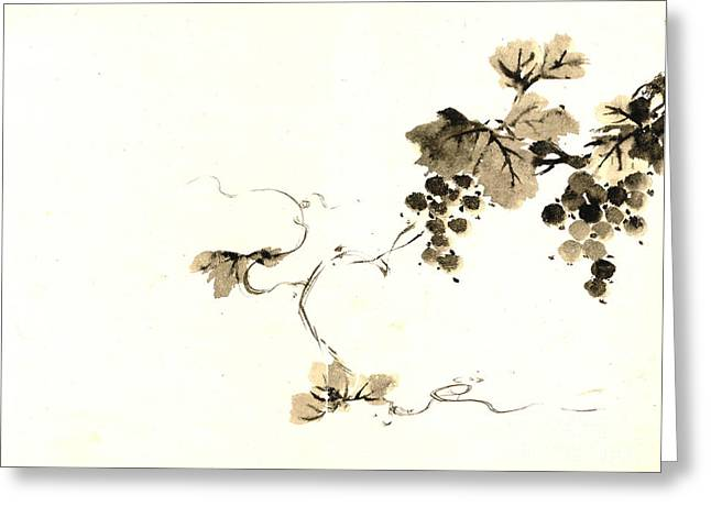 Grape Clusters 1800 Greeting Card by Padre Art