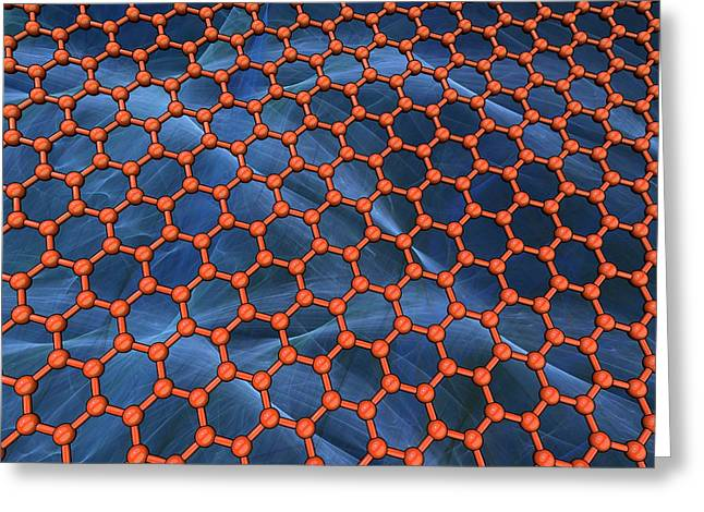 Graphene Greeting Card by Laguna Design