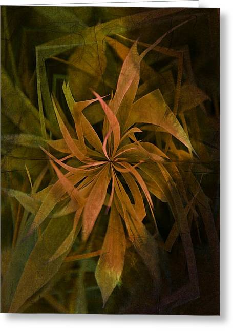 Visionaries Designs Greeting Cards - Grass Abstract - Earth Greeting Card by Marianna Mills