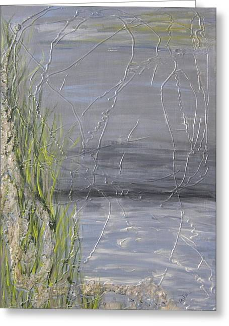 Marcia Weller-wenbert Greeting Cards - Grassy Dunes Greeting Card by Marcia Weller-Wenbert