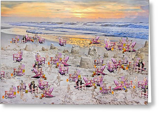 Grateful Holiday Greeting Card by Betsy C Knapp