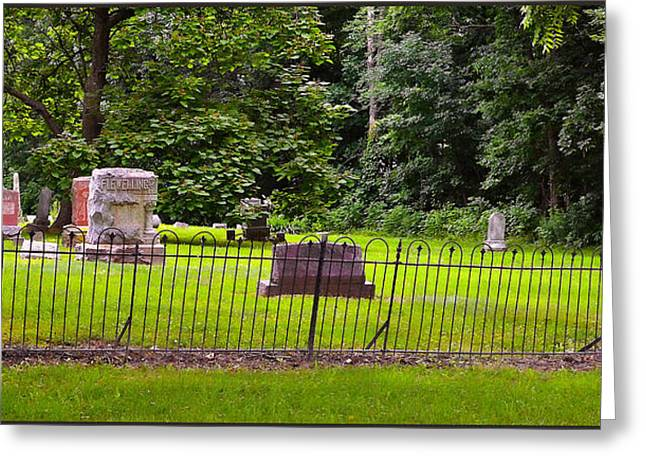 Grave Yard Greeting Cards - Grave Yard Greeting Card by Jeffrey Platt