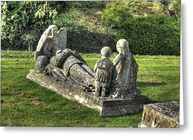 Robert Lindsay Greeting Cards - Gravestone Greeting Card by Terry Bean